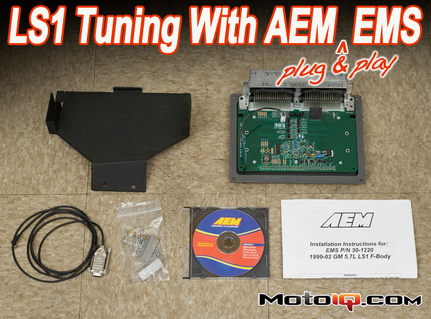AEM LS1 plug and play EMS ECU