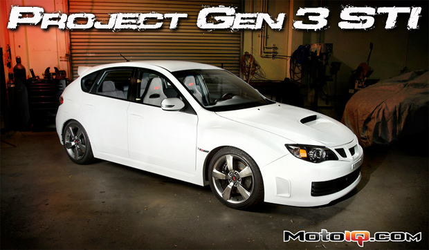 MotoIQ's project GR Third generation Subaru STI
