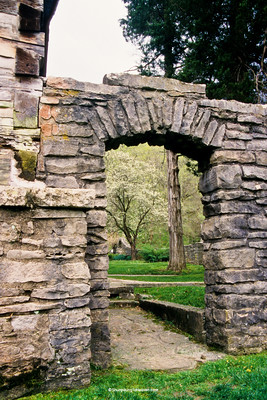 Limestone Arch, Spring Mill State Park, Lawrence County, Indiana