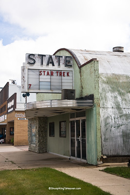 State Theater, circa 1935, Holstein, Ida County, Iowa