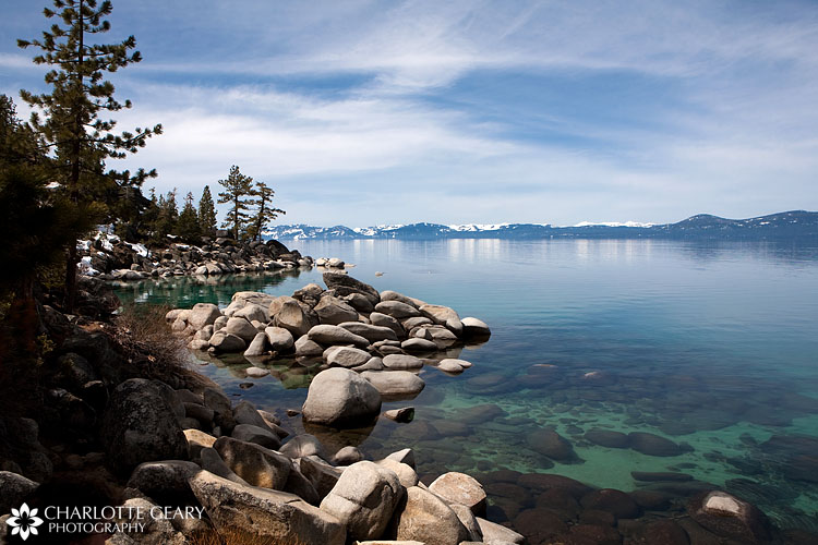 Sand Harbor at Tahoe State Park in Nevada