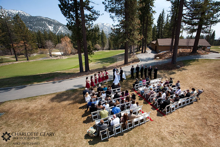 Chateau at Incline Village wedding ceremony