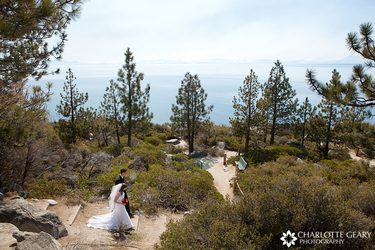 Lake Tahoe wedding at Memorial Point