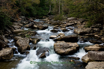 Glade Creek at Babcock State Park, New River Gorge, Fayette County, West Virginia