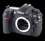 Nikon D200 without a mounted lens