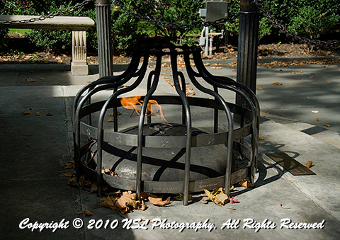 The Eternal Flame of the Tomb of the Unknown Revolutionary War Soldier