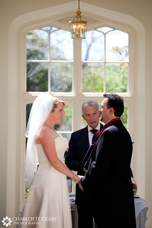 St. Audries Park wedding ceremony