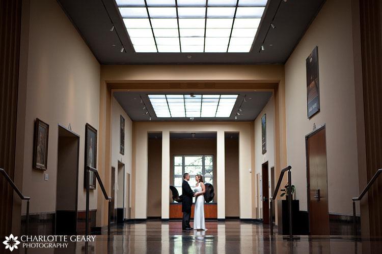 Colorado Springs wedding at the Fine Arts Center