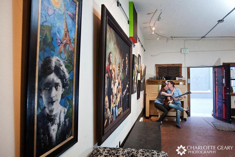 The Modbo art gallery in Colorado Springs
