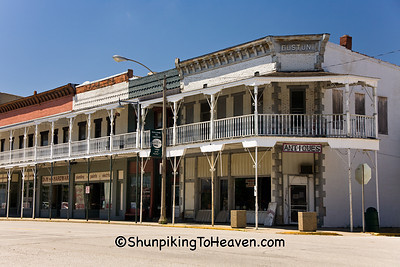 Downtown Greenup, Cumberland County, Illinois