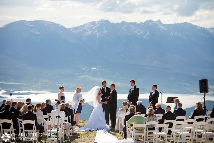 Keystone wedding ceremony