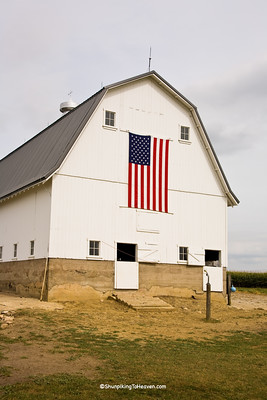 Geschke Barn, Gambrel Roof, Built in the 1940s, Chickasaw County, Iowa