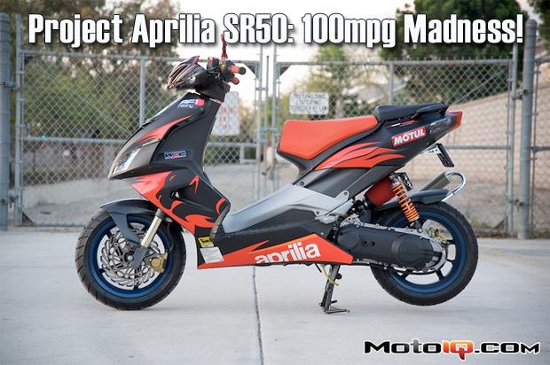 Project Aprilia SR50