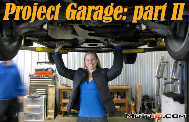 Project Garage: Part II