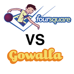 Gowalla vs Foursquare Travel