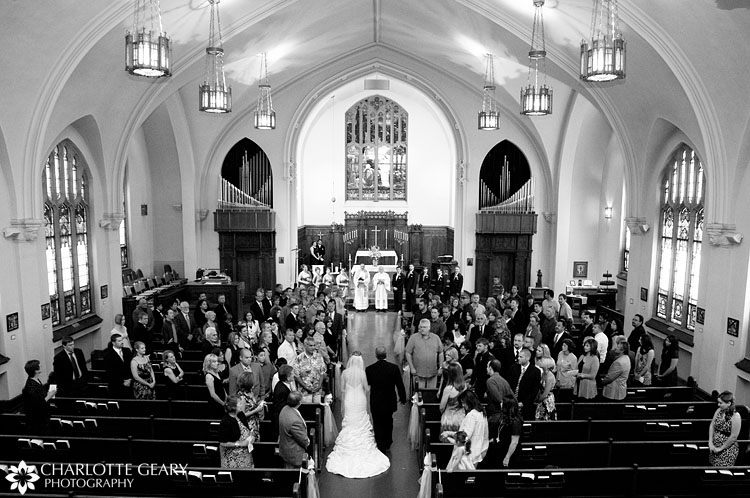 St. Paul's Church wedding in Denver