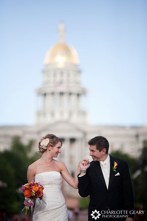 Civic Center Park wedding