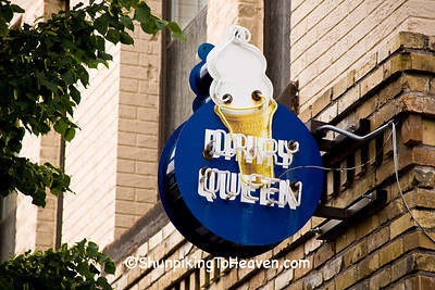 Vintage Dairy Queen Sign, Duluth, Minnesota