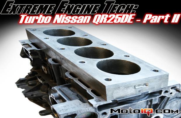 Modifed Turbo Nissan QR25DE