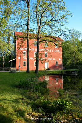 Bowen's Mill, Built 1864, Barry County, Michigan