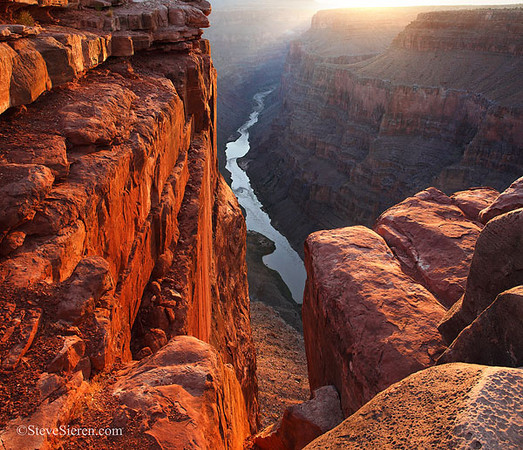 Dangle your toes off of Toroweap's 3,000 foot cliff overlooking the Colorado River in Grand Canyon National Park.