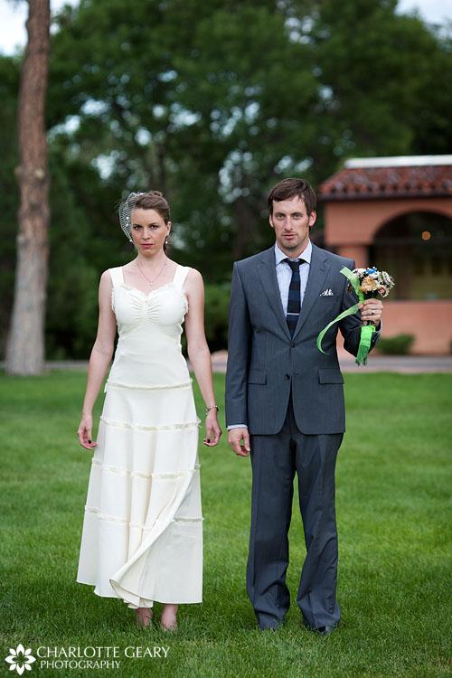 American Gothic wedding