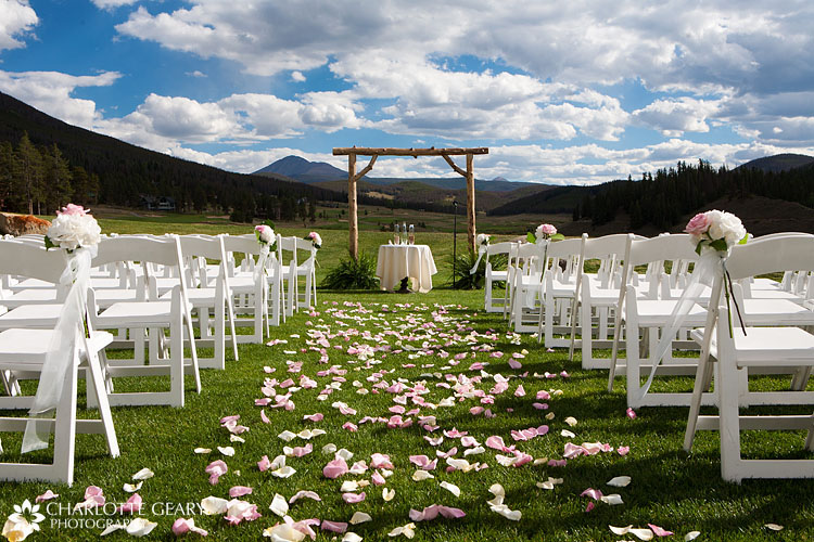 Keystone Ranch wedding ceremony