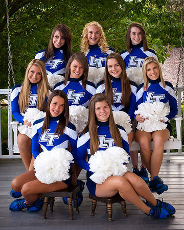 Legend High School Poms 11-12