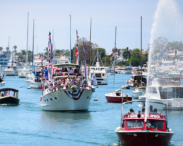 Balboa Island 4th Boat Parade and Tustin Fireworks