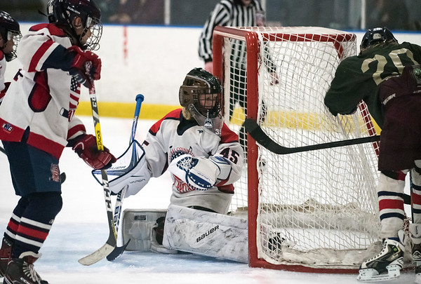 07/25/18 Wesley Bunnell   Staff The Central CT Capitals AA (Newington) were defeated by Kent Elite 07 in 12U Nutmeg Games ice hockey on Wednesday evening. Goalkeeper (45) for the Capitals.