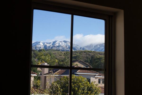 Snow On Saddleback