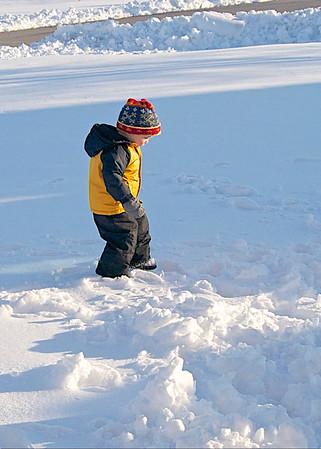 03 06 15 Mason in the snow