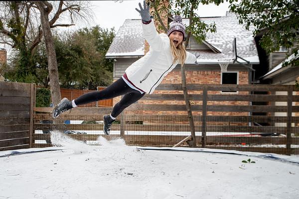 February 2021 Snow