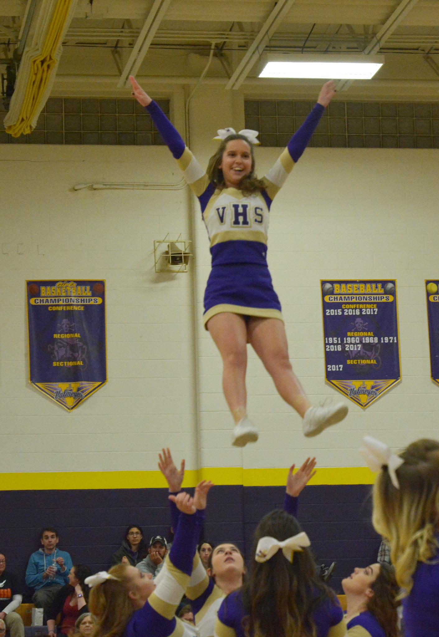 Valmeyer High School Cheerleading 2017-18