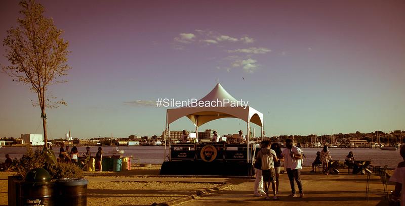 Silent Beach Party 11 August 2019