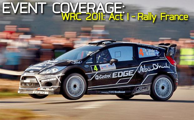 WRC 2011: Act I, Rally France