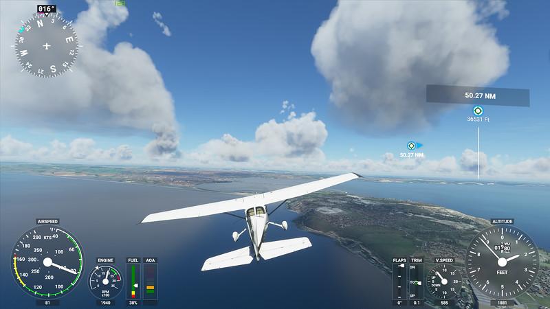 MSFS, Microsoft Flight Simulaor - Sun 23/08/2020@15:55