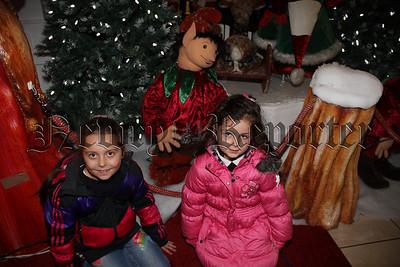 Santa Arrives at Buttercrane Shopping Centre