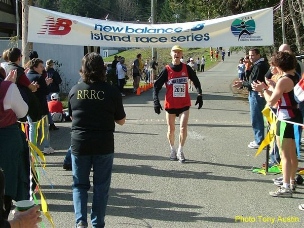 2004 Hatley Castle 8K - Jim happy to be finished