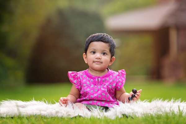 1st Birthday Outdoor Family Portraits  |  Parnika