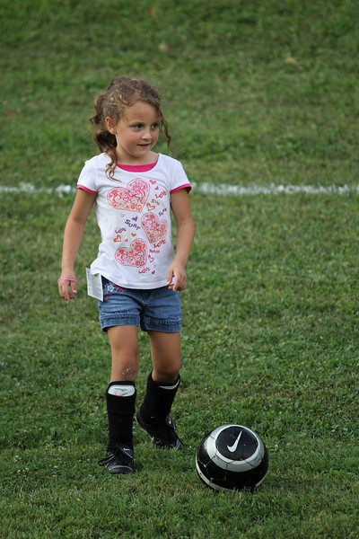 Amy, Haleigh and Steven's Soccer Camp