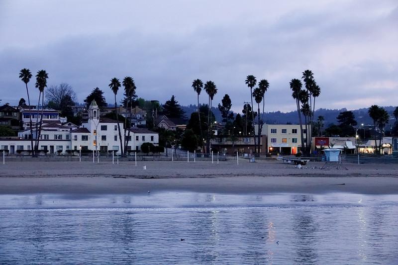 Looking at Main Beach in Santa Cruz