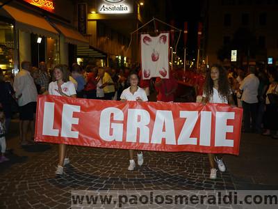Foto sfilata borgate Palio del Golfo 2011 - Le Grazie La Spezia