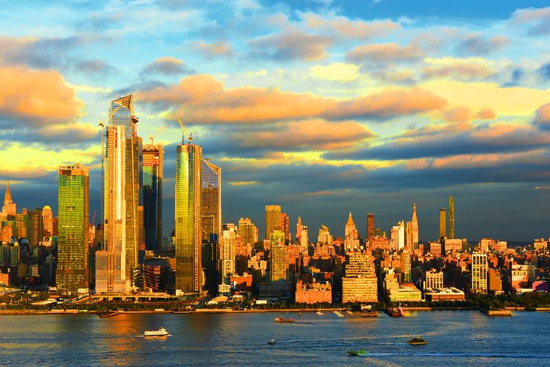 NYC Late September Sundown
