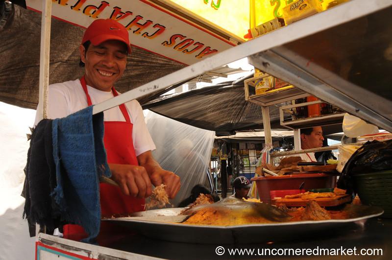 Street Food Tacos - Xela, Guatemala