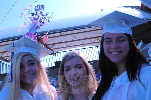 Newtown High School Class of 2013 graduation ceremony