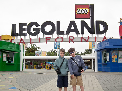 Grandsons' Trip to Legoland