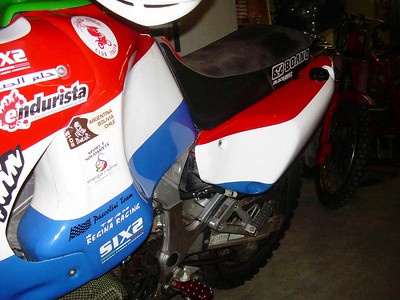 Rear Fuel Tanks Africa Twin RD07/07A