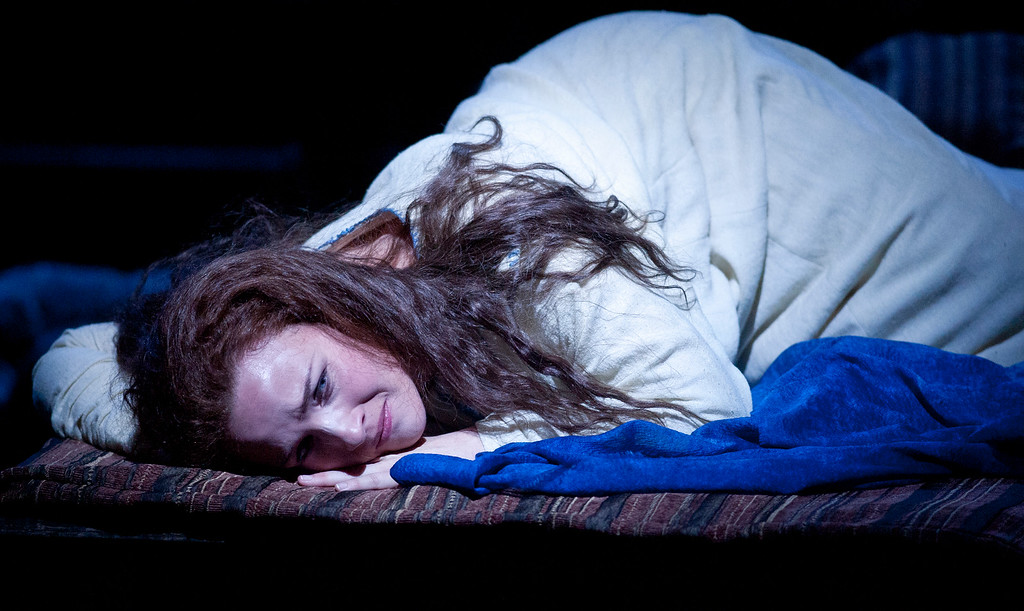 ". Sasha Cooke portrays the title character in San Francisco Opera\'s world premiere of Mark Adamo\'s ""The Gospel of Mary Magdalene,\"" Sunday, June 16, 2013 at the War Memorial Opera House in San Francisco. (D. Ross Cameron/Bay Area News Group)"