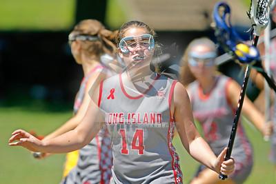 7/31/2015 - Girls 2017 Playoff - Adirondack vs. Long Island - Colgate University, Hamilton, NY